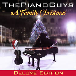 The Piano Guys: A Family Christmas Deluxe Edition CD With DVD