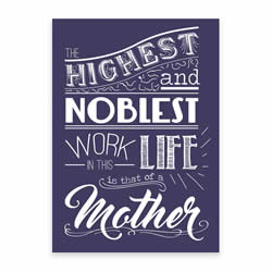 Mothers Day Card - Purple - Printable free mothers day card, printable mothers day card, purple mothers day card