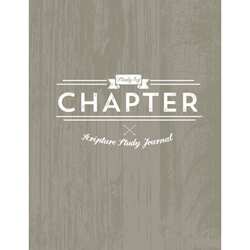 Study by Chapter Journal - Rustic Version lds study by chapter, lds scripture study guide