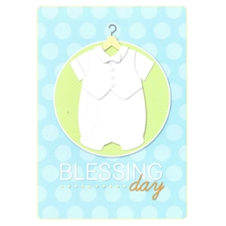 Blessing Day Greeting Card - Boy