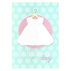 Blessing Day Greeting Card - Girl