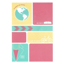 Missionary Greeting Card - Sister