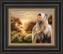 The Lord Is My Shepherd - Framed