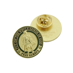Armor of God Pin Set
