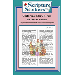 Childrens Book of Mormon Scripture Stickers