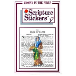 Women in the Bible Scripture Stickers