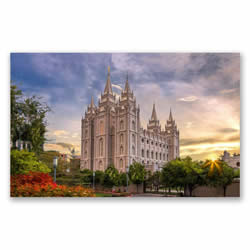 Salt Lake Temple Recommend Holder