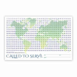 World Missionary Countdown Sheet - Sister coloring countdown calendar, color in countdown calendar, mission countdown, missionary countdown