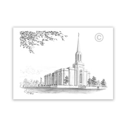 St Louis Missouri Temple Recommend Holder