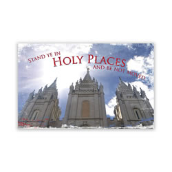Stand in Holy Places Youth Temple Recommend Holder