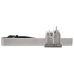 Salt Lake Temple Tie Bar - Silver