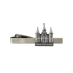 Provo City Center Tie Bar - Silver Finish