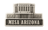 Mesa Arizona Temple Pin - Silver