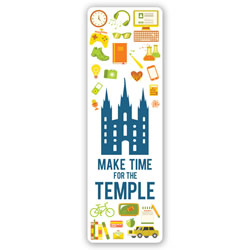 Make Time for the Temple Bookmark temple bookmark, lds temple bookmark, lds bookmark, make time for the temple bookmark, make time for temple, make time for temple bookmark, make time for the temple
