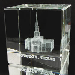 Houston Temple Cube