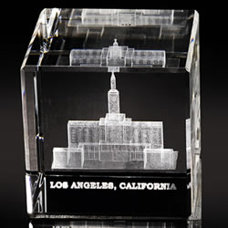 Los Angeles Temple Cube