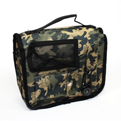 Camo Scripture Tote with Compass