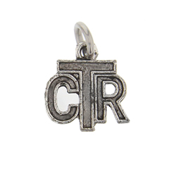 CTR Charm choose the right charm, lds childrens charms