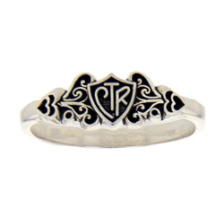 Filigree CTR Ring