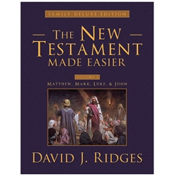 The New Testament Made Easier Deluxe Vol. 1 - eBook new testament, new testament made easier, deluxe new testament