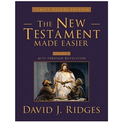 The New Testament Made Easier Deluxe Vol. 2 - eBook new testament, new testament made easier, deluxe new testament