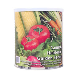 Canned Heirloom Garden Seed