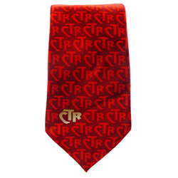 Mens Red CTR Necktie