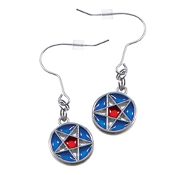 Nauvoo Star Earrings