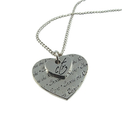 CTR Double Heart Necklace