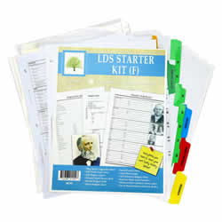 LDS Family History Starter Kit