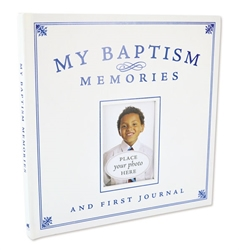 My Baptism Memories and First Journal - Boy