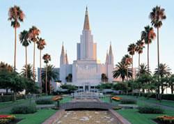 Oakland California Temple During the Day - Print