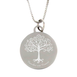 Families Are Forever Necklace - Silver