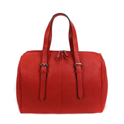 Classic Raspberry Temple Bag - LDP-DBRTP02RED
