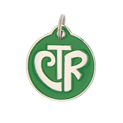 Personalized CTR Pet ID Tag - Circle