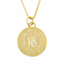 Relief Society Necklace - Gold
