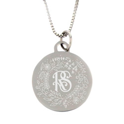 Relief Society Necklace - Silver
