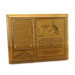 Missionary Plaque - 7 x 9