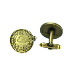 SLC Temple Doorknob Cufflinks - Gold