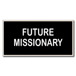Future Missionary Tiny Tag