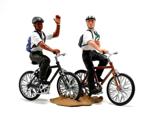 Missionaries On Bikes Figurine In Toys Ldsbookstore Com